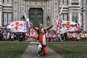 Bandierai degli Uffizi Firenze